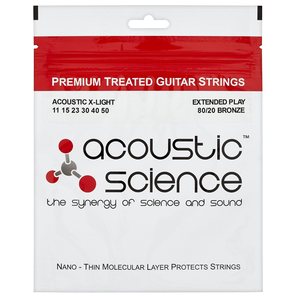 ACOUSTIC SCIENCE BRONZE 11-50 Струны для гитар акустик
