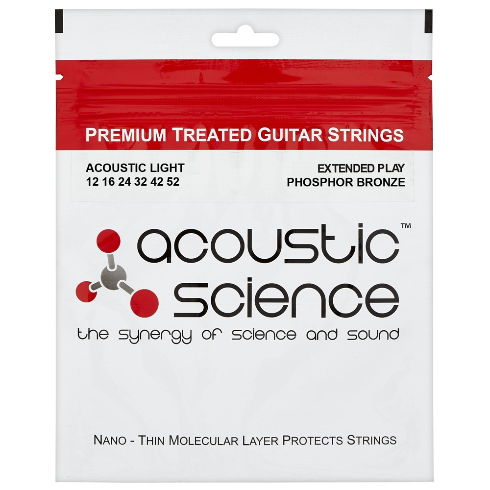 ACOUSTIC SCIENCE PHOSPHOR 12-52 Струны для гитар акустик