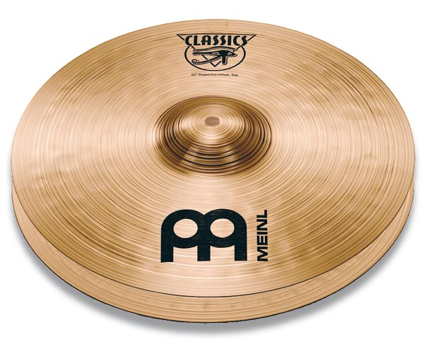 "Meinl C14PH Тарелки 14"" Powerful Hihat (пара)"
