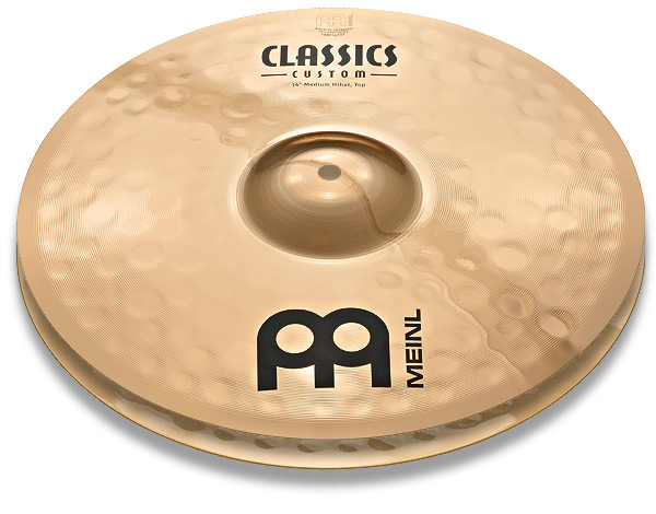 "Meinl CC14MH-B Тарелка 14"" Classics Custom Medium Hihat (пара)"