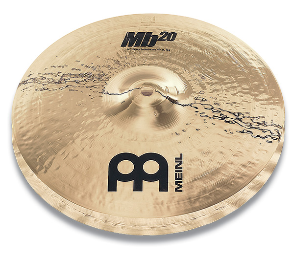 "Meinl MB20-14HSW-B Тарелки 14"" Heavy Soundwave Hihat (пара)"